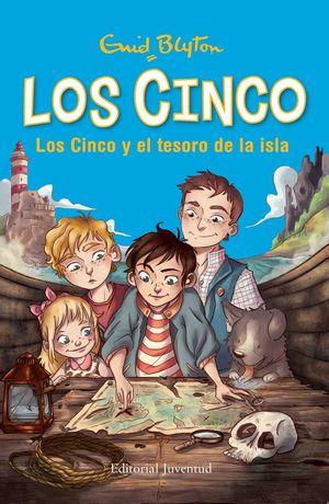 LOS CINCO Y EL TESORO DE LA ISLA. BLYTON, ENID. Libro en