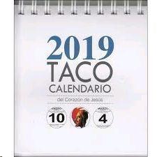 TACO CALENDARIO SAGRADO CORAZÓN DE JESUS 2019