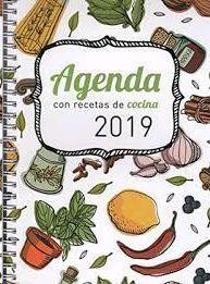 AGENDA 2019 CON RECETAS DE COCINA