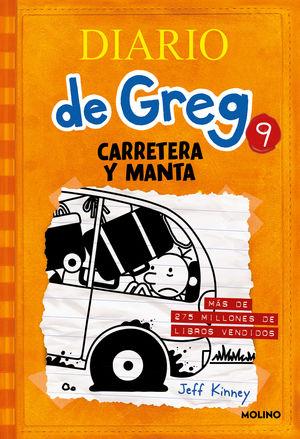 DIARIO DE GREG 9: CARRETERA Y MANTA