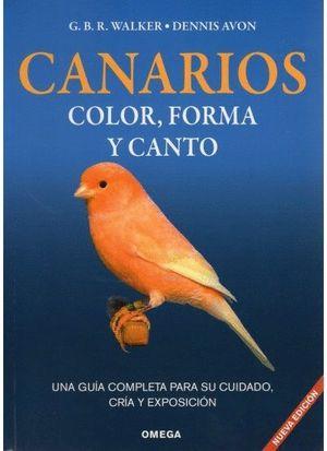CANARIOS: COLOR, FORMA Y CANTO