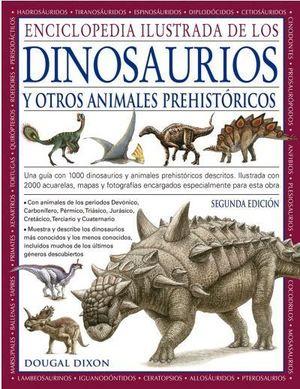 ENCICLOPEDIA ILUSTRADA DE LOS DINOSAURIOS Y OTROS ANIMALES PREHISTÓRICOS