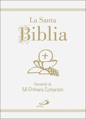 LA SANTA BIBLIA - EDICIÓN CARTONÉ, ORO Y UÑEROS