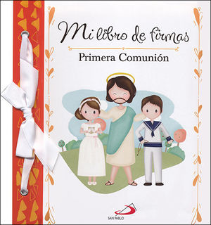 MI LIBRO DE FIRMAS. MI PRIMERA COMUNION (NARANJA)