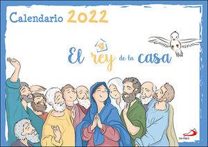 CALENDARIO DE PARED EL REY DE LA CASA 2022