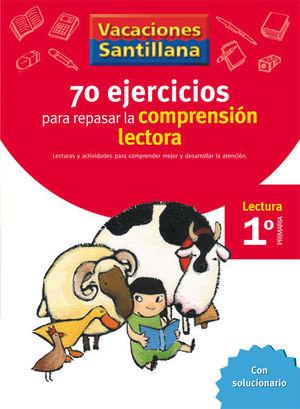 VACACIONES COMPRENSION LECTORA 1 EP