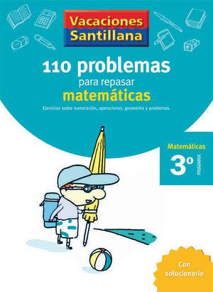 VACACIONES PROBLEMAS DE MATEMATICAS 3 EP