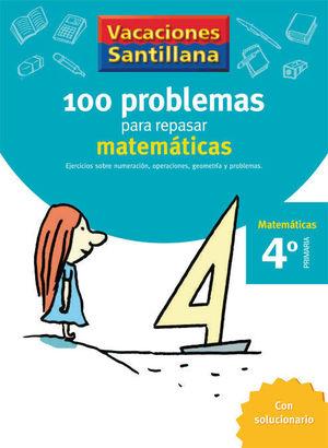 VACACIONES PROBLEMAS DE MATEMATICAS 4 EP