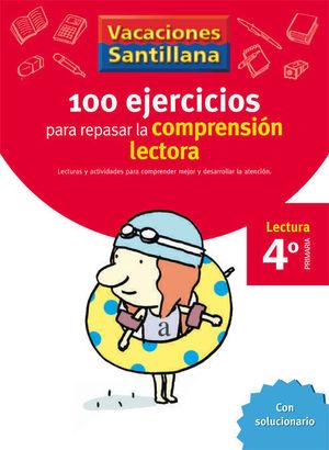 VACACIONES COMPRENSION LECTORA 4 EP