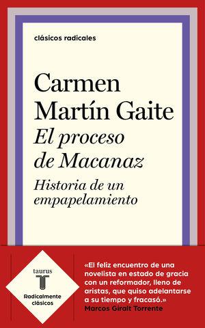 PROCESO DE MACANAZ, EL