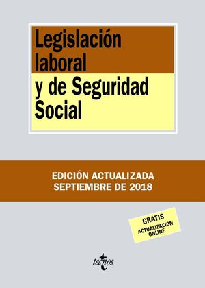 LEGISLACIÓN LABORAL Y DE SEGURIDAD SOCIAL 2018