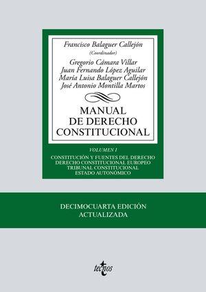 MANUAL DE DERECHO CONSTITUCIONAL I 2019
