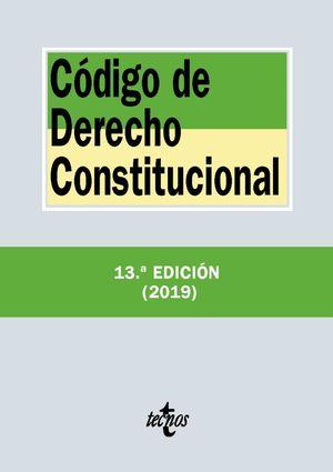 CÓDIGO DE DERECHO CONSTITUCIONAL 2019
