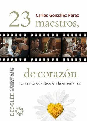 23 MAESTROS, DE CORAZÓN