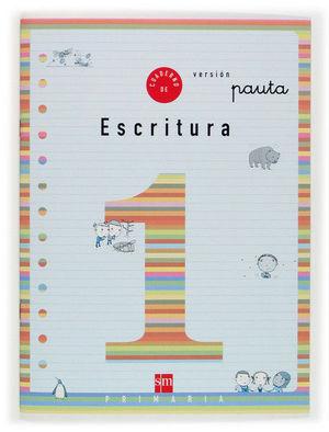 1EP.CUAD.ESCRITURA 1 V.PAUTA 04