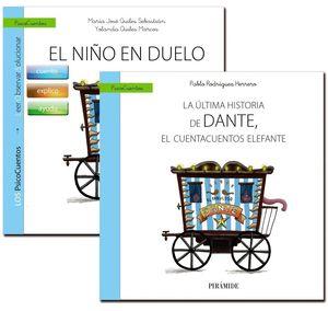 GUÍA: EL NIÑO EN DUELO + CUENTO: LA ÚLTIMA HISTORIA DE DANTE, EL CUENTACUENTOS E
