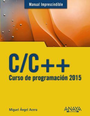 C/C++. CURSO DE PROGRAMACIÓN 2015