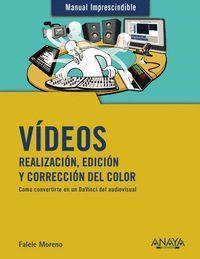 VIDEOS. REALIZACION Y EDICION