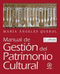 MANUAL DE GESTIÓN DEL PATRIMONIO CULTURAL