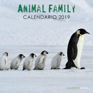 CALENDARIO ANIMAL FAMILY 2019
