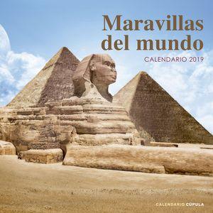 CALENDARIO MARAVILLAS DEL MUNDO 2019