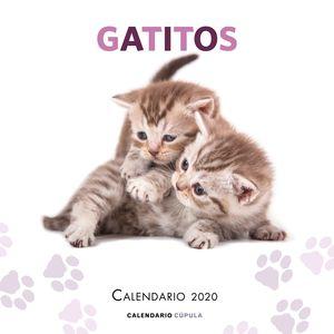 CALENDARIO GATITOS 2020