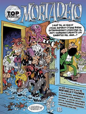 EL TESORERO  LA PERRA DE LAS GALAXIAS (TOP CÓMIC MORTADELO 59)
