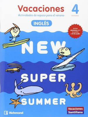 (16).NEW SUPER SUMMER 4º PRIM.(BOOK+AUDIO)