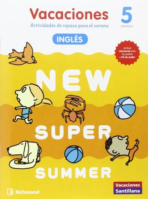 (16).NEW SUPER SUMMER 5º PRIM.(BOOK+AUDIO)