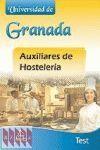 AUXILIAR HOSTELERIA UNIV.GRANADA TEST