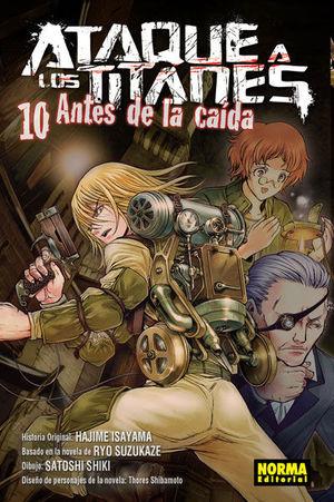 ATAQUE A LOS TITANES ANTES DE LA CAIDA 10