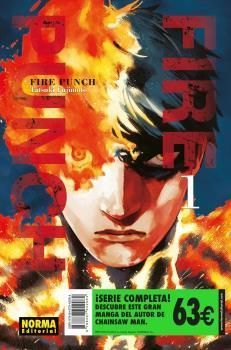 PACK FIRE PUNCH SERIE COMPLETA