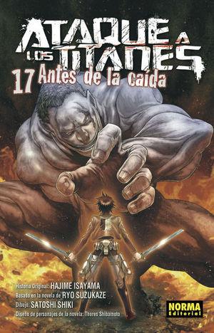 ATAQUE A LOS TITANES ANTES DE LA CAÍDA 17