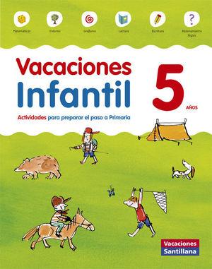 5AÑOS VACACIONES INFANTIL ED15