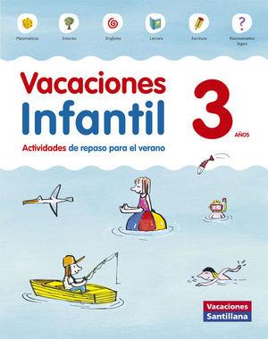 3AÑOS VACACIONES INFANTIL ED15