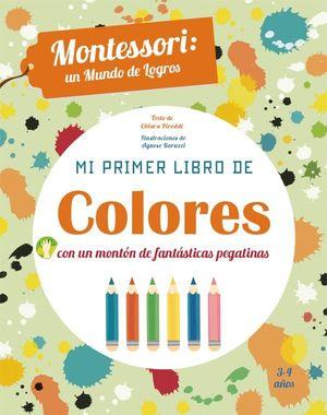 MI PRIMER LIBRO DE COLORES (VVKIDS)