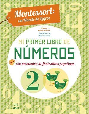 MI PRIMER LIBRO DE NUMEROS (VVKIDS)