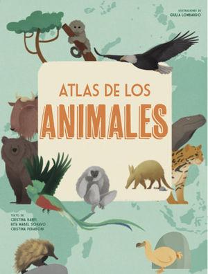ATLAS DE LOS ANIMALES (VVKIDS)