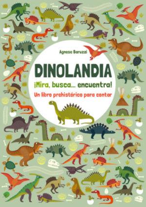 DINOLANDIA.¡MIRA, BUSCA, ENCUENTRA! (VVKIDS)