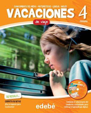 VACACIONES DE VIAJE (CUADERNO + CARPETA RETOS + CD)
