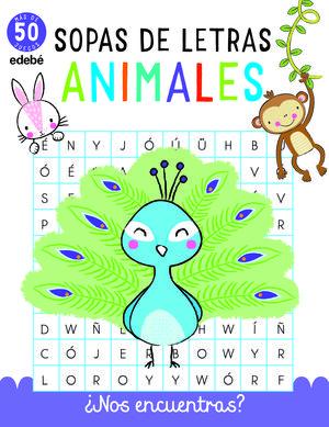 SOPAS DE LETRAS: ANIMALES