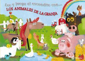 LEE Y JUEGA AL ESCONDITE CON... LOS ANIMALES DE LA GRANJA