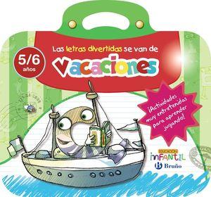 VACACIONES LETRAS DIVE 5