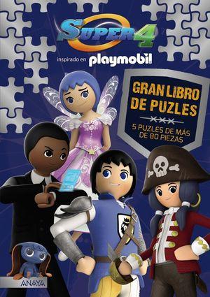 SUPER 4 - GRAN LIBRO DE PUZLES