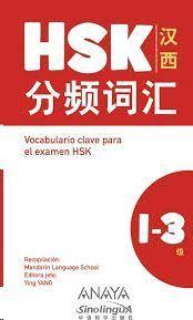 VOCABULARIO CLAVE PARA LA PREPARACION DE HSK