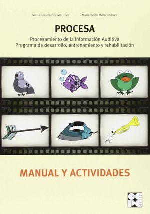 PROCESA MANUAL Y ACTIVIDADES PROCESAMIENTO INFORMACION AUDITIVA: PROGRAMA DE DES
