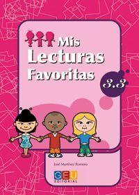 MIS LECTURAS FAVORITAS 3.3