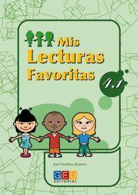 MIS LECTURAS FAVORITAS 4.1