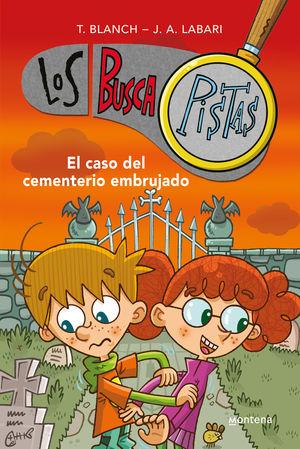 BUSCAPISTAS 4 EL CASO DEL CEMENTERIO EMBRUJADO