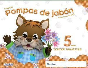 POMPAS DE JABÓN 5 AÑOS. 3º TRIMESTRE.